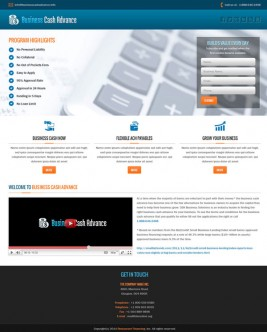 Business Cash Advance (Responsive)