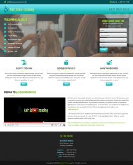 Hair Salon Financing (Responsive)